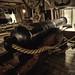 Cannon @ HMS Warrior main gun desk