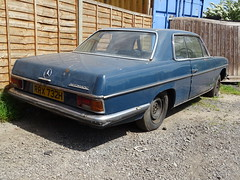 1970 Mercedes Benz 250 CE Automatic (Neil's classics) Tags: vehicle car 1970 mercedes benz abandoned w114 250ce