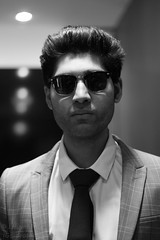 Mohammed Junaid May 6 2018 (deathknight5000) Tags: toronto torontolife actor model male bokeh art blackandwhite