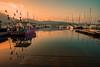 Sunset harbour......... (Dafydd Penguin) Tags: sun sunset harbour harbor port dock marina pontoon quay harbourside waterside fish boat vessel yacht yahcting fishing calm evening light sea water cavalaire sur mer cote dazur mediterranean france leica m10 elmarit 21mm f28