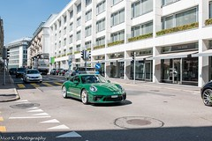 Porsche 991 GT3 MkII (Nico K. Photography) Tags: porsche 991 gt3 mkii green yellow supercars nicokphotography makegreengreatagain switzerland zürich