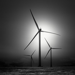 Trois (nlwirth) Tags: nlwirth yup wind turbine ir infrared light