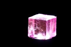 The Levitating Cube (arcticbramble) Tags: lowkey macromondays cube kuutio pink pinkki black musta light valo reflection heijastus transparent läpinäkyvä