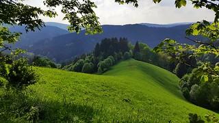 St. Andreasberg - Blick vom Glockenberg auf die Harzberge