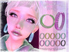 [ bubble ] Wire Neon Hoops (::: insanya ::: & [ bubble ]) Tags: secondlife bubble originalmesh accessories earrings hoops mesh hud exclusive thefantasycollective