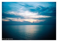 magic hour blue ## (kouji fujiwara) Tags: sea seascape magichour dusk sunset fineart fine art orympus orympuspenf pen penf angeniuex m42