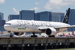 EVA AIR B777-300ER B-16715 STAR ALLIANCE 001 (A.S. Kevin N.V.M.M. Chung) Tags: aviation aircraft aeroplane airport macauinternationalairport mfm plane spotting transport taxiway boeing evaair staralliance b777300er