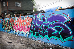 WaspXaustLevis (Rodosaw) Tags: lurrkgod chicago graffiti documentation street art graffitiart mfk squad levis xaust wasp