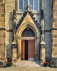 St. Joseph - Detroit (Will-Jensen-2020) Tags: detroitphotographer architecture gothic door entry stone oratory roman catholic church stjosephs detroit michigan usa