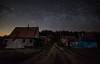 Village under the stars (free3yourmind) Tags: village under stars starry night beauty forest nature dark skies sky road houses braslav braslaw belarus