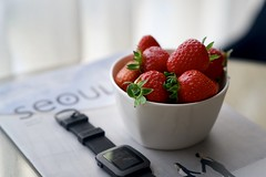 taste Seoul (raisalachoque) Tags: travel berry color composition 7dwf seoul close stilllife closeup strawberry