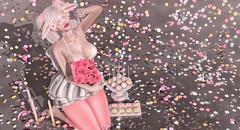 27.04.18 - Sweet Treat (rainbowmubble) Tags: addams anlarposes arte bossie catwa cerberusxing fameshed halfdeer lefilcasse nani pinkfuel rainbowmubble rainbowsundae secondlife slink theepiphany theseasonsstory wednesday alaskametro