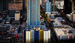 Seattle Under Construction! (Raphael de Kadt) Tags: seattle usa washingtonstate construction cityscape 2015 fujifilmxt1 fujinonxf18135mmwrois lightandshadow colors colours colourful