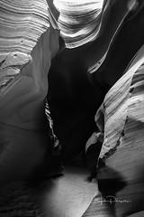 Deasert Black and White-1-4 (JOHN PHILPOTTS PHOTOGRAPHY) Tags: antalopecanyon arizona monumentvalley page raodtrip utah deathvalley