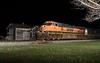 BNSF 982 in Genoa, Illinois on April 22, 2018 (soo6000) Tags: c449w dash9 ge bnsf bnsf982 982 genoa illinois freeportsub nighttime m33891 manifest freight foreignpower depot