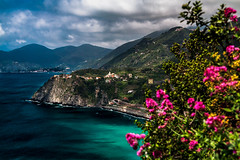 Italian Coastal Towns (BeNowMeHere) Tags: ifttt 500px trip benowmehere cinqueterre colours italiancoastal towns italy italycoast landscape manarola mediterranean nature sky clouds coast light travel waters edge scenery riverbank scenic townscape picturesque scenics tranquil scene mountain summer spring europe spring2018 italiancoastaltowns