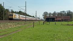 Boizenburg IC 2213 SN - S 101 071-9 Zeit fuer Gold (Wolfgang Schrade) Tags: ic intercity db ic2213 br101 1010719 zeitfürgold zug eisenbahn kbs100 boizenburg