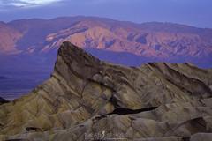 Backlight (ihikesandiego) Tags: zabriskie point sunrise death valley national park