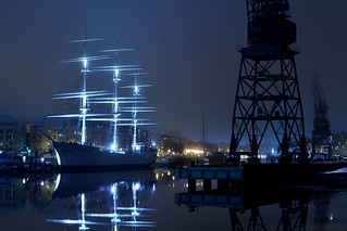 Tall Ship in the Night