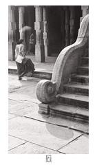 Step (krishartsphotography) Tags: krishnansrinivasan krishnan srinivasan krish arts photography monochrome fineart fine art step diagonal handrail swellstep granite stone floor walk people women indian pillars roof shadow rays light affinity photo renganathaswamy temple helios 44 58mm f2 srirangam tamilnadu india