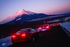 The JDM fanboy trinity (m i n i t e k) Tags: toyota supra nissan gtr r34 mazda rx7 japan jdm gran turismo