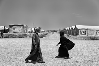 Refugee camp Iraq