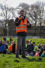 #POP2018  (207 of 230) (Philip Gillespie) Tags: pedal parliament pop pop18 pop2018 scotland edinburgh rally demonstration protest safer cycling canon 5dsr men women man woman kids children boys girls cycles bikes trikes fun feet hands heads swimming water wet urban colour red green yellow blue purple sun sky park clouds rain sunny high visibility wheels spokes police happy waving smiling road street helmets safety splash dogs people crowd group nature outdoors outside banners pool pond lake grass trees talking bike building sport