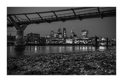 City by night.... (mariolka3) Tags: nikkor2470 nikon riverthames bridge lights nightshots longexposure river london city