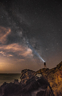 Milky Way! Malibu California Beach Sea Cave Arch Milkyway! Epic Malibu Long Exposure Starry Night Fine Art Landscape Seascape HDR Photography! Elliot McGucken Fine Art! Sony A7RII & Sharp Carl Zeiss Sony Vario-Tessar T* FE 16-35mm f/4 ZA OSS Lens SEL1635Z