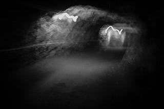 hiking tunnel