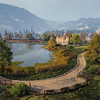 """Pond"" (Omegapepper) Tags: wallpaper screenshot gaming games videogame digital photography photomode photostitch landscape realistic water sky mountains mountain nature green vegetation grass screenarchery wot world tanks war vintage"