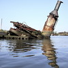 Pisa (95wombat) Tags: abandoned decayed rotted submerged filthy forgotten slimy corroded wasteland killvankull statenisland newyork