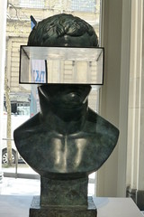 Sacha Sosno: The Good Watchman (carolyngifford) Tags: theclassicalnow somersethouse london sculpture bronze sosno