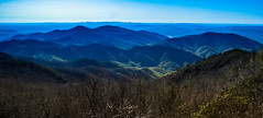 Blue Ridge Mountains (apasciuto) Tags: blueridgemountains northcarolina wideangle mountains trees sky atmosphericperspective hills hiking outdoors nature landscape vista view