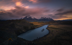 Patagonia After Glow (mitalpatelphoto) Tags: ifttt instagram patagonia torresdelpaine southamerica chile river landscape sunset adventure travel
