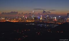 SUNSET AT TAI SHEK MO, HONG KONG (tommy0620) Tags: sunset hong kong landscape lo wu view 香港 日落 大石磨