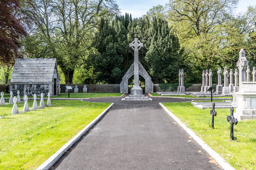 ST. PATRICK'S COLLEGE CEMETERY IN MAYNOOTH [SONY A7RIII IN CROP SENSOR MODE]-139541