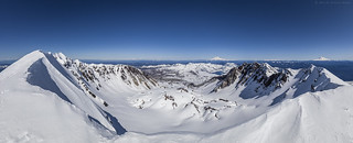 Mt Saint Helens Crater Panorama