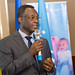 Eric Alain Ategbo, Chief of Nutrition and Food Security UNICEF Ethiopia, presents on EU-SHARE project