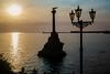 Севастополь (vikkay) Tags: крым севастополь бухта море набережная лето отдых прогулка вечер причал небо памятник солнце закат фонарь