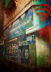 Melbourne (World Space Patrol) Tags: graffiti melbourne art lanes forum