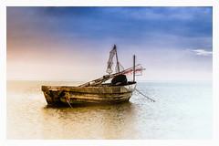 Black Pearl (fotoerdmann) Tags: sky blau coast küste boot germany meer ostsee canon6dmark2 fotoerdmann
