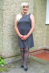 Magdagryshft-001 (fionaxxcd) Tags: crossdresser crossdressing transvestite tranny trannie m2f mtf tgurl longblonde ponytail shift rednails bust