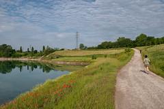 Vietato staccare la spina (drugodragodiego) Tags: brescia lombardia italy parco run runner road lake landscape pentax pentaxk1 k1 pentaxdfa2470mmf28 hdpentaxdfa2470mmf28edsdmwr