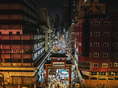 Temple Street | Hong Komg (DANIEL_CCN) Tags: olympus omd em5ii panasonic leica 15mm f17 snap night landscape hongkong city view 852 photography photoshoot photo market people pro travel