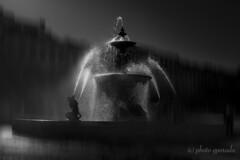 Lisbon - Rossio Fountain (gporada) Tags: praçadorossio rossiosquare bw blackwhite monochrom lisboa sonya7ii ilce7m2 canonfd2824mm fountain rossiofountain