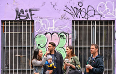 east village people (poludziber1) Tags: nyc ny newyork manhattan usa people city street urban purple