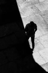 Testing the Temperature (EightBitTony) Tags: 2018 shadow person city nottingham male urban contrast canon6d man streetphotography blackandwhite highcontrast citycentre may uk nottinghamshire bw blackwhite canon canondslr canoneos canoneos6d mono monochrome england unitedkingdom gb