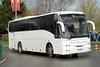 Ron Mainwarings, Hendreforgan SUI 8192, Volvo B10 outside Cheltenham racecourse (majorcatransport) Tags: welshbuses cheltenham volvo volvob10 jonckheere ronmainwaringhendreforgan