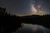 Milky way rising (-> LorenzMao <-) Tags: milkyway milkywaygalaxy milkywaycore river riverrouge quebec quebeccanada arundel waterreflection water montreal montréal galacticcenter